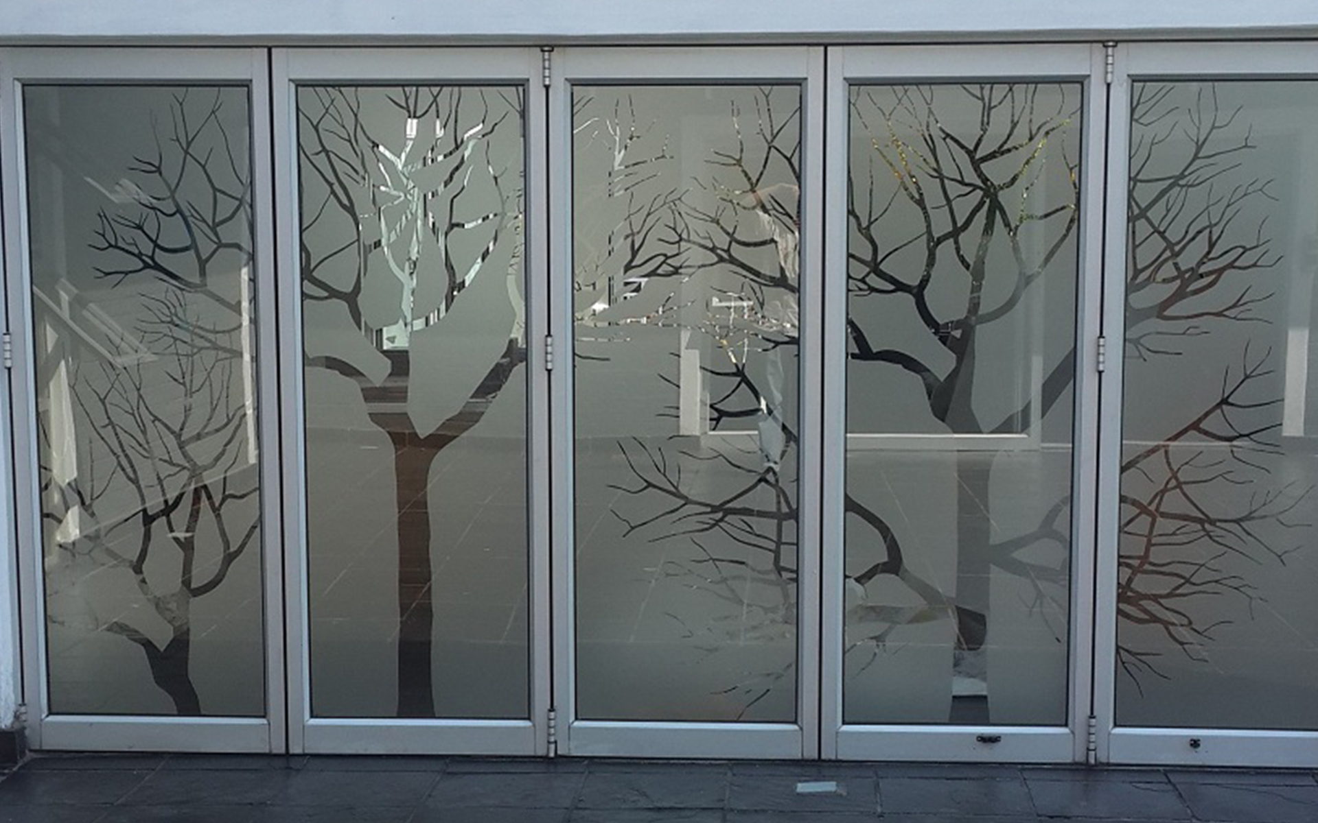 Printed Glass Decor Blinds Amp Shade Solutions